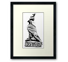 Horus  pharaoh Framed Print