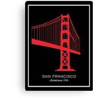 San Francisco. Canvas Print