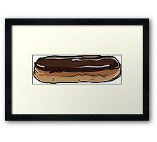 Chocolate Eclair Framed Print