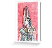 barracuda boy Greeting Card