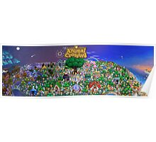 Animal Crossing Poster Poster