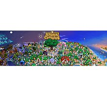 Animal Crossing Poster Photographic Print