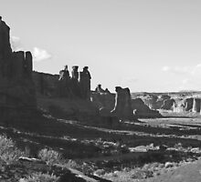 """Arches National Park, Utah, """"In the Shadows"""" by cshphotos"""
