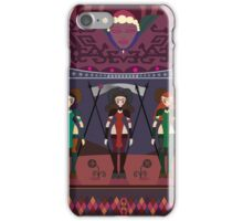 Marsian Squadron Tapestry 01 iPhone Case/Skin