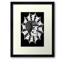 Sweetheart (Black) Framed Print