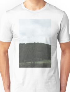 Simplistic Green Forest Unisex T-Shirt
