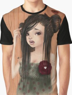 Girl 63 |  Free Topic (Summer Dress) Graphic T-Shirt