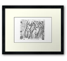 CONTINUITY OF THE HUMAN FORM Framed Print