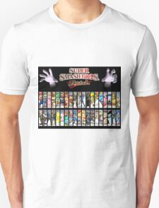 Smash Bros all characters T-Shirt