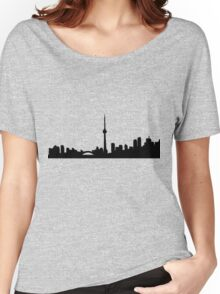 Toronto Skyline Shirt Women's Relaxed Fit T-Shirt
