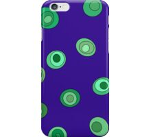 Green Dots iPhone Case/Skin