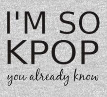 I'M SO KPOP - PINK Kids Tee