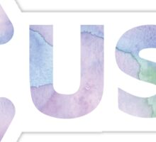 USY Watercolor Sticker