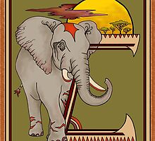 Elephant by BMcGee
