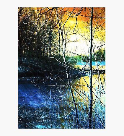 Sunlit River Photographic Print