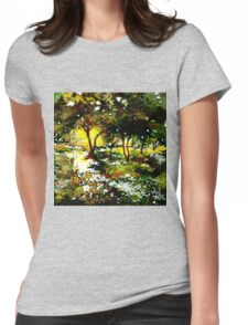 Morning Light Womens Fitted T-Shirt
