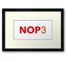 No Half Life 3 Framed Print