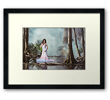 The Muck, The Mire, and the Model Framed Print