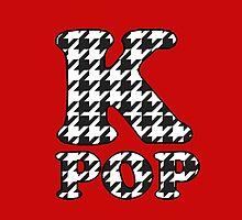KPOP - BLACK HOUNDSTOOTH by Kpop Seoul Shop