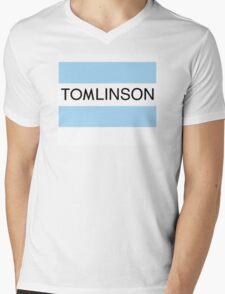 One Direction Tomlinson Banner Mens V-Neck T-Shirt