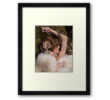 Moss Lady Framed Print