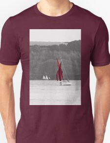 Isolated Yacht Carrick Roads T-Shirt