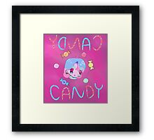 Candy Candy Framed Print
