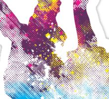 hip hop galaxy Sticker
