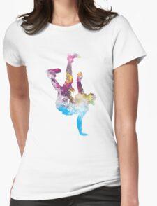 hip hop galaxy Womens Fitted T-Shirt