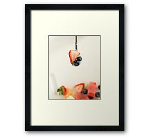 Fruit on Spoon Framed Print