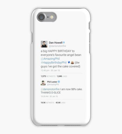 Phil's birthday tweets iPhone Case/Skin