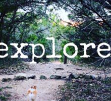 explore. Sticker