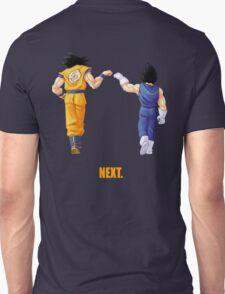 Goku Vegeta - Next. (back or front) T-Shirt