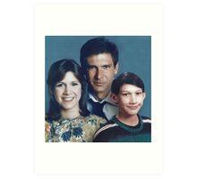 Solo Organa Skywalker family portrait Art Print