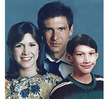 Solo Organa Skywalker family portrait Photographic Print