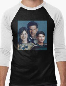 Solo Organa Skywalker family portrait Men's Baseball ¾ T-Shirt