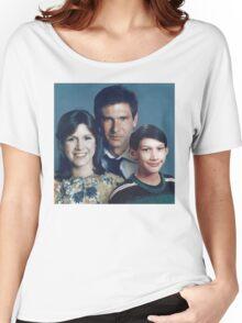 Solo Organa Skywalker family portrait Women's Relaxed Fit T-Shirt