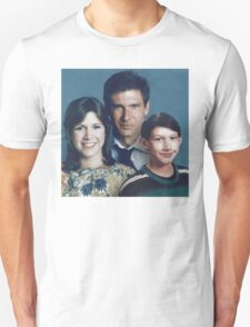 Solo Organa Skywalker family portrait T-Shirt