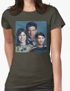Solo Organa Skywalker family portrait Womens Fitted T-Shirt