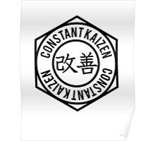 ConstantKaizen Circle Crest Poster