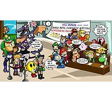 Smash Bros funny Photographic Print