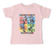 Prehistoric Pastimes Dinosaur  Youth Sports Baby Tee