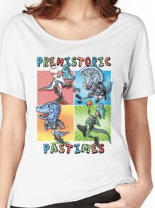Prehistoric Pastimes Dinosaur  Youth Sports Women's Relaxed Fit T-Shirt