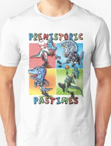 Prehistoric Pastimes Dinosaur  Youth Sports Unisex T-Shirt