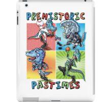 Prehistoric Pastimes Dinosaur  Youth Sports iPad Case/Skin