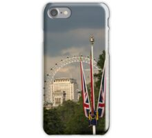 British Symbols and Landmarks - Exploring London on a Cloudy Day iPhone Case/Skin