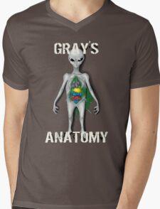 Gray's Anatomy Mens V-Neck T-Shirt