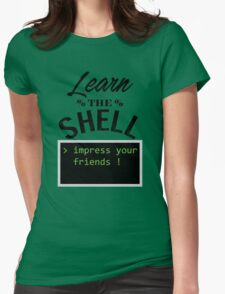 Learn the shell Womens Fitted T-Shirt