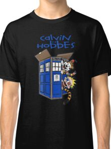 Calvin And Hobbes Tardis Classic T-Shirt