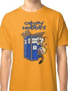 Calvin And Hobbes Tardis Classic T-Shirt